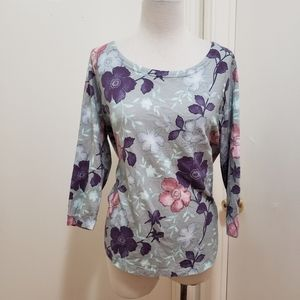 3for$20 floral blouse